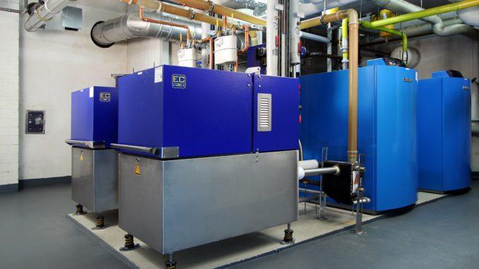 BHKW, das bei einer WEG installiert wurde und der Eigenversorgung mit Strom dient. Foto: EM Energiemanagement