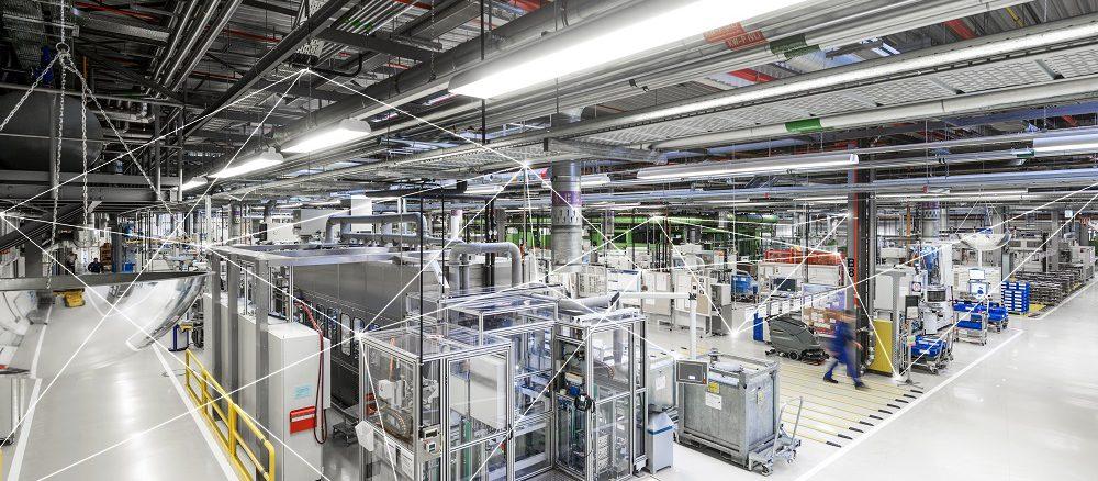 Energieeffizient durchorgansiert: Bosch-Werk Homburg. Foto: Bosch