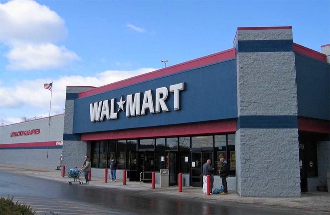 Ansicht einer Walmart-Filiale in den USA. - Quelle: Websinergia via Twitter