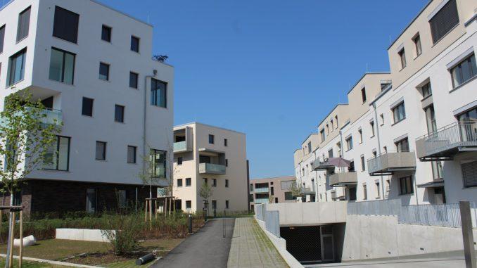 Im Mannheimer Quartier Franklin ist E-Mobilität mit eigener Stromerzeugung fest eingeplant. Foto: Frank Urbansky