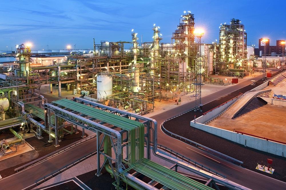 Standort der NEXBTL-HVO-Raffinerie von Neste im Rotterdamer Hafen. Foto: Neste Oil