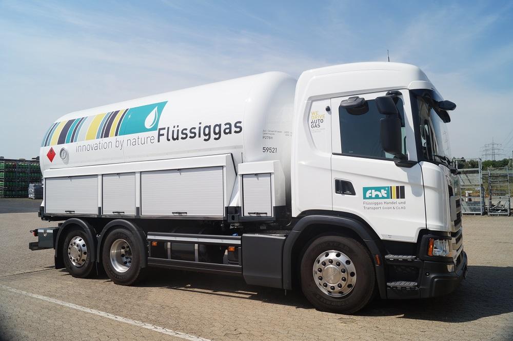 Autogas als Alternative für Diesel-Lkw