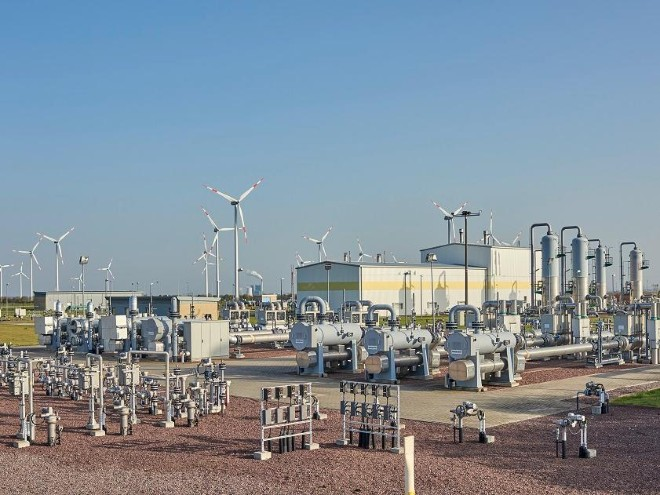 Erster deutscher Erdgasspeicher wird fit für Wasserstoff