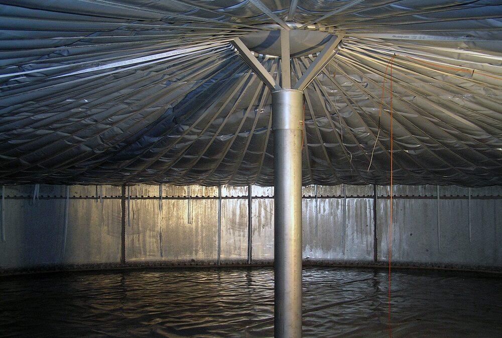 Neue Textil-Membranen sollen Biogas-Verluste minimieren